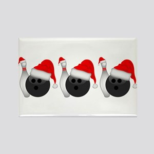 Christmas Bowling Magnets