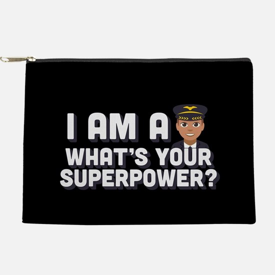 Emoji Pilot Superpower Makeup Bag