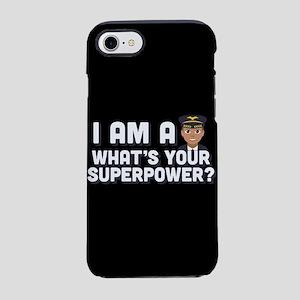 Emoji Pilot Superpower iPhone 8/7 Tough Case