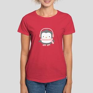 Cute Penguin with Ear Muffs T-Shirt