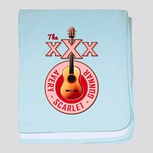 THE TRIPLE X'S baby blanket