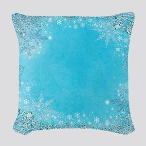 Frozen Woven Throw Pillow
