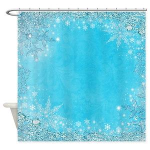 Frozen Shower Curtains