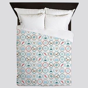 Pattern of Science - Ep. 2 Queen Duvet