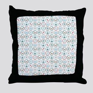 Pattern of Science - Ep. 2 Throw Pillow