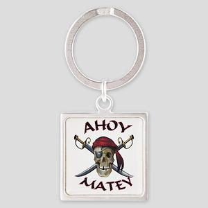 Pirate Skull Ahoy Keychains