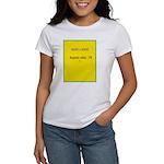 Note Card 2 Women's T-Shirt