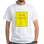Note Card 2 White T-Shirt