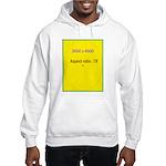 Note Card 2 Hooded Sweatshirt