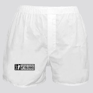Proudly Support Grndma - USAF Boxer Shorts