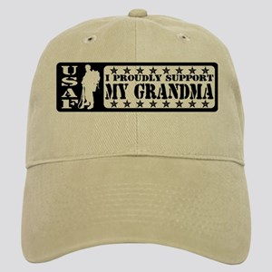 Proudly Support Grndma - USAF Cap