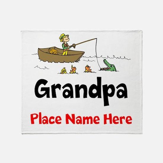 Grandpa Throw Blanket