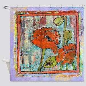 Spring's Trumpet Shower Curtain