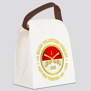 1st Maine Cavalry Canvas Lunch Bag