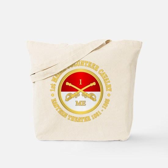 1st Maine Cavalry Tote Bag