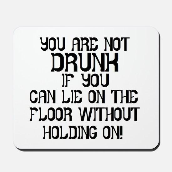 Drunk Mousepad