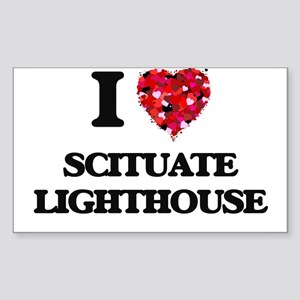 I love Scituate Lighthouse Massachusetts Sticker