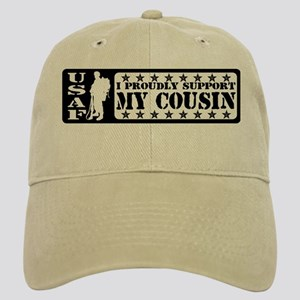 Proudly Support Cousin - USAF Cap