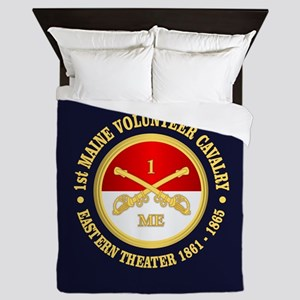 1st Maine Cavalry Queen Duvet
