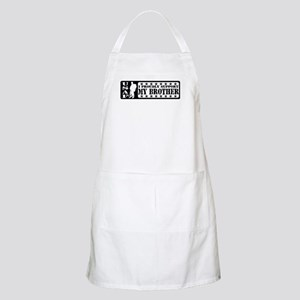 Proudly Support Bro  - USAF BBQ Apron