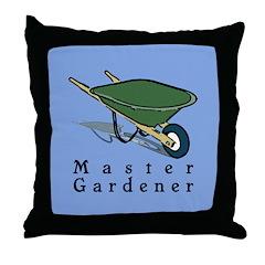 Master Gardener Throw Pillow