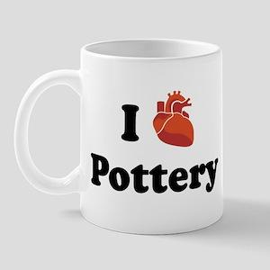 I (Heart) Pottery Mug