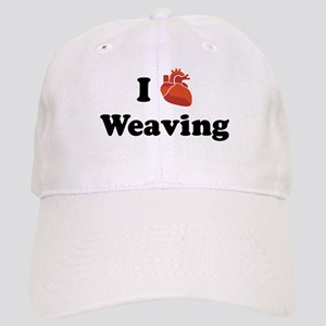 I (Heart) Weaving Cap