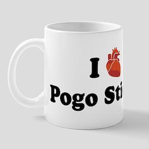 I (Heart) Pogo Sticks Mug