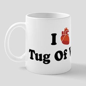 I (Heart) Tug Of War Mug