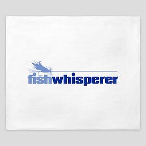fishwhisperer 4 King Duvet
