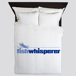 fishwhisperer 4 Queen Duvet