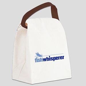 fishwhisperer 4 Canvas Lunch Bag