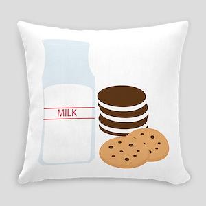 Cookies Milk Everyday Pillow