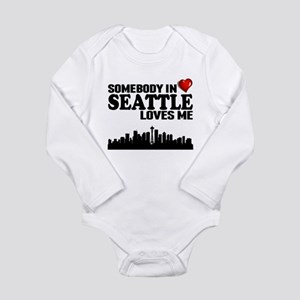 Somebody In Seattle Loves Me Body Suit