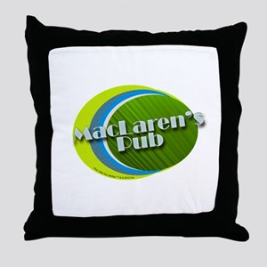 MacLaren's Pub Throw Pillow