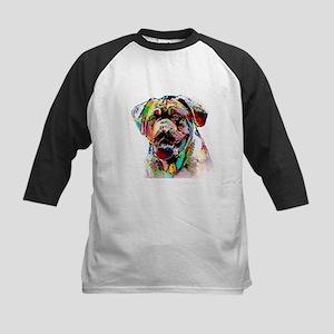 Colorful Bulldog Baseball Jersey