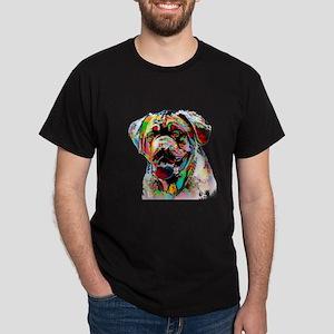 Colorful Bulldog T-Shirt