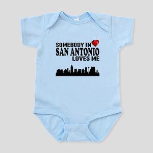 Somebody In San Antonio Loves Me Body Suit