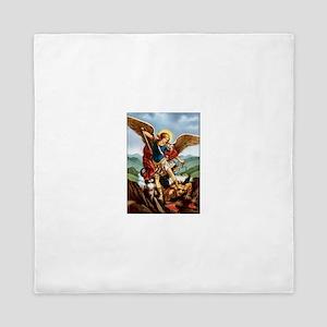 Saint Michael the Archangel Queen Duvet