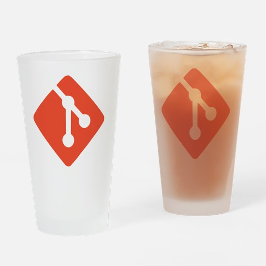 Git Drinking Glass
