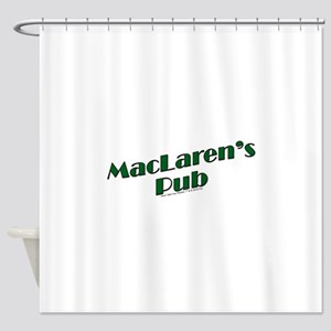 MacLaren's Pub Shower Curtain