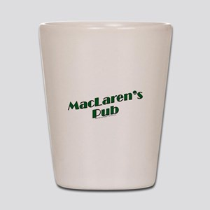 MacLaren's Pub Shot Glass