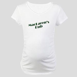 MacLaren's Pub Maternity T-Shirt