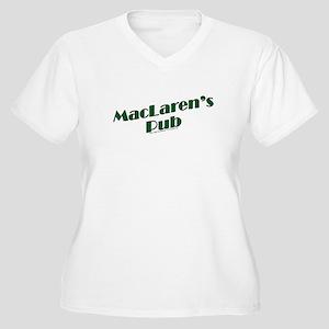 MacLaren's Pub Plus Size T-Shirt