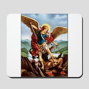 Saint Michael the Archangel Mousepad