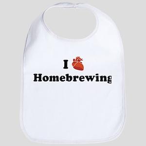 I (Heart) Homebrewing Bib