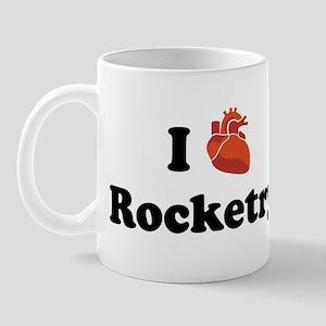 I (Heart) Rocketry Mug