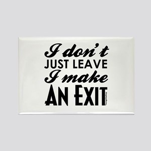 Exit Rectangle Magnet