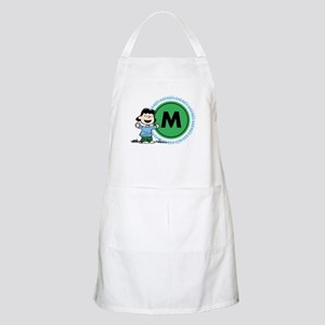 Peanuts Lucy Monogram Light Apron