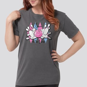 Queen Of The Lanes Womens Comfort Colors T-Shirt